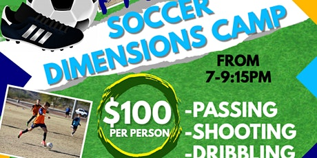 Soccer Dimensions Pre-Season Camp tickets