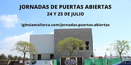 Jornada de Puertas Abiertas (CASA NUEVA) - 25.07.21 - 17:15 horas entradas