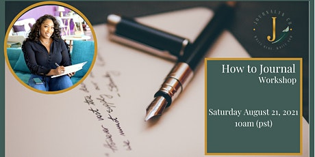 How Journaling can change your life tickets