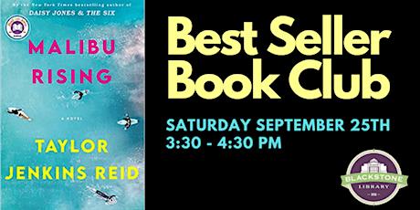 Best Seller Book Club: Malibu Rising by Taylor Jenkins Reid tickets
