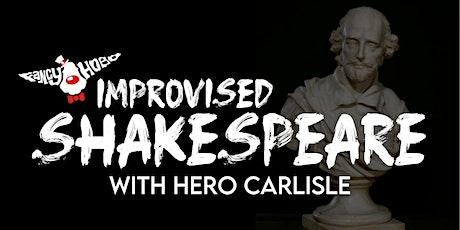 Improvised Shakespeare Class tickets