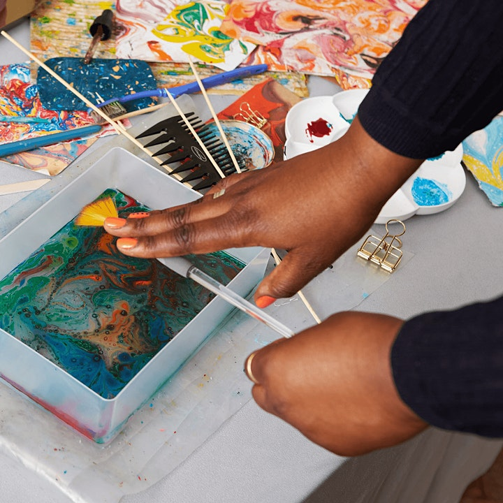 Introduction to Marbling Workshop  East London image