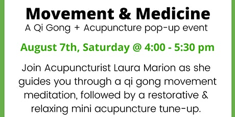 Acupuncture Pop-up Event for Balance tickets