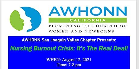 Nursing Burnout Crisis: It's The Real Deal! tickets