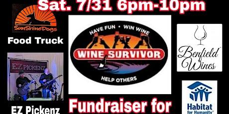 H 4 H Wine Survivor Fundraiser! Sunshine Dogs Food Truck & EZ  Pickenz tickets
