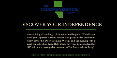 Discover Your Independence - Fundraiser tickets
