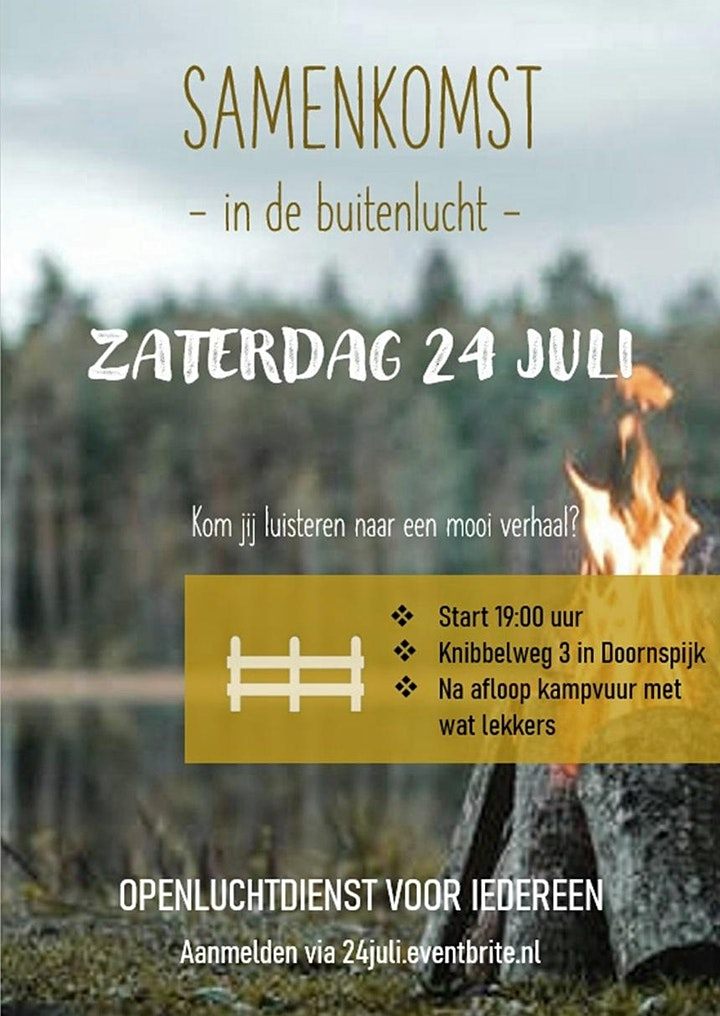 Afbeelding van Openluchtdienst voor iedereen - 24 juli