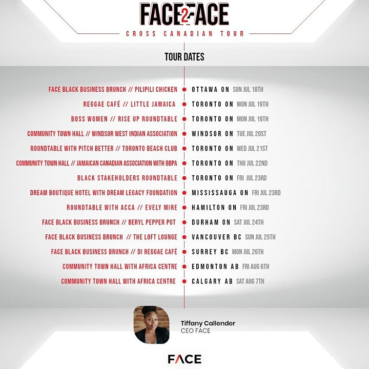 Face2Face Tour: Black Stakeholders Roundtable image