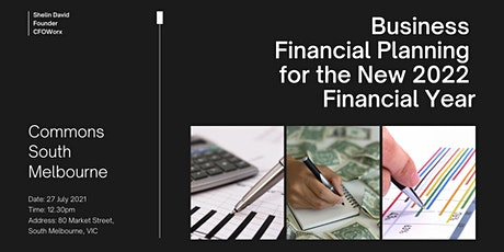 Business Financial Planning for the New 2022 Financial Year tickets