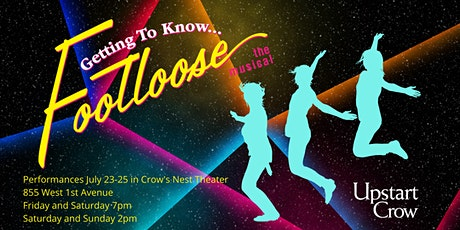 """Getting to Know... Footloose the Musical """"Boots Cast"""" tickets"""