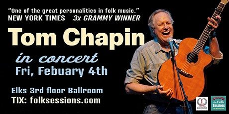 Tom Chapin in Concert - The Elks Crystal Hall Ballroom tickets