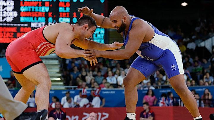 Arjan Bhullar Wrestling/Takedown Clinic image