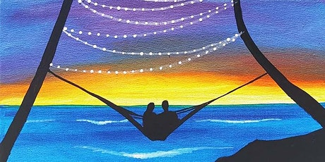 "Sip and Paint  -  ""Sunset Snuggle""  Estancia La Jolla tickets"