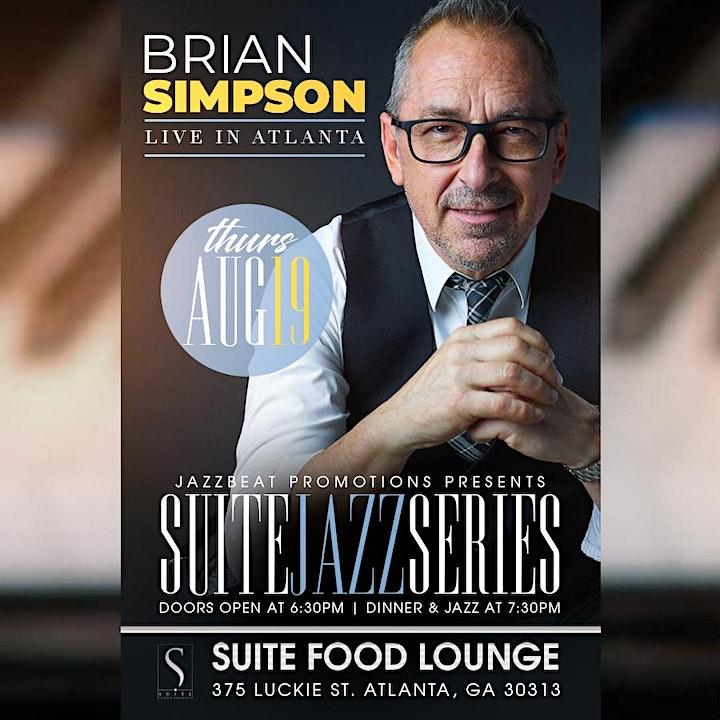 Brian Simpson  Live at Suite image