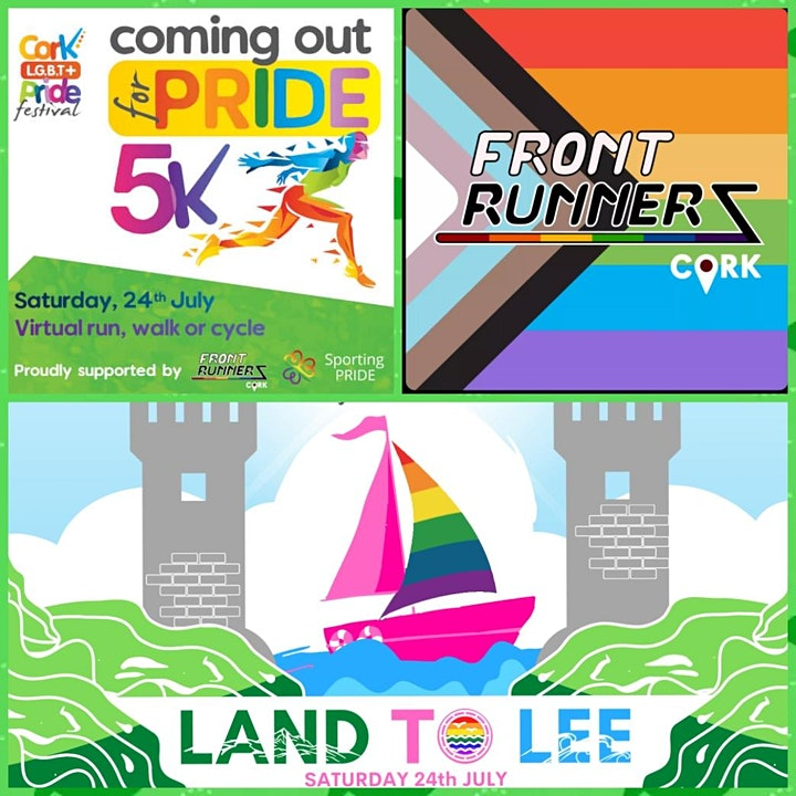 Land to Lee & Coming OUT for Pride 5k - IN PERSON with Frontrunners Cork image