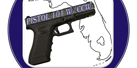 Pistol 101 with Florida Concealed Carry Class tickets