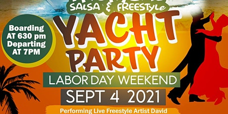 Salsa and Freestyle Yacht Party tickets