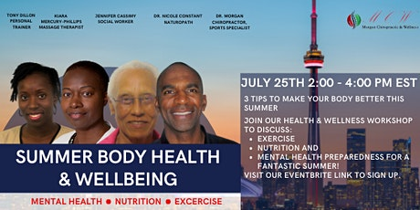 Summer Body Health  & Wellbeing tickets