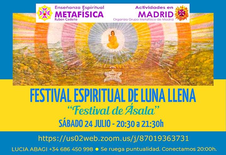 Imagen de Festival Espiritual de Luna Llena