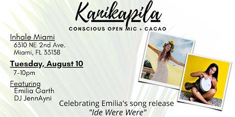 Kanikapila- Conscious Open Mic + Cacao tickets
