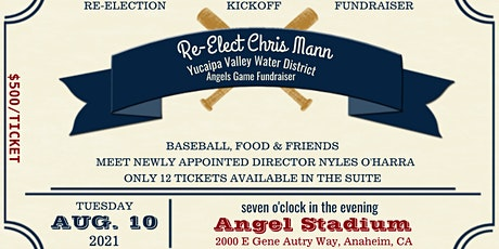 Re-Elect Board President Chris Mann to the Yucaipa Valley Water District tickets