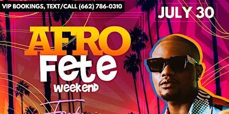 AfroVibe Fridays: Afro-Fete WKND ft. DJ Tunez! tickets
