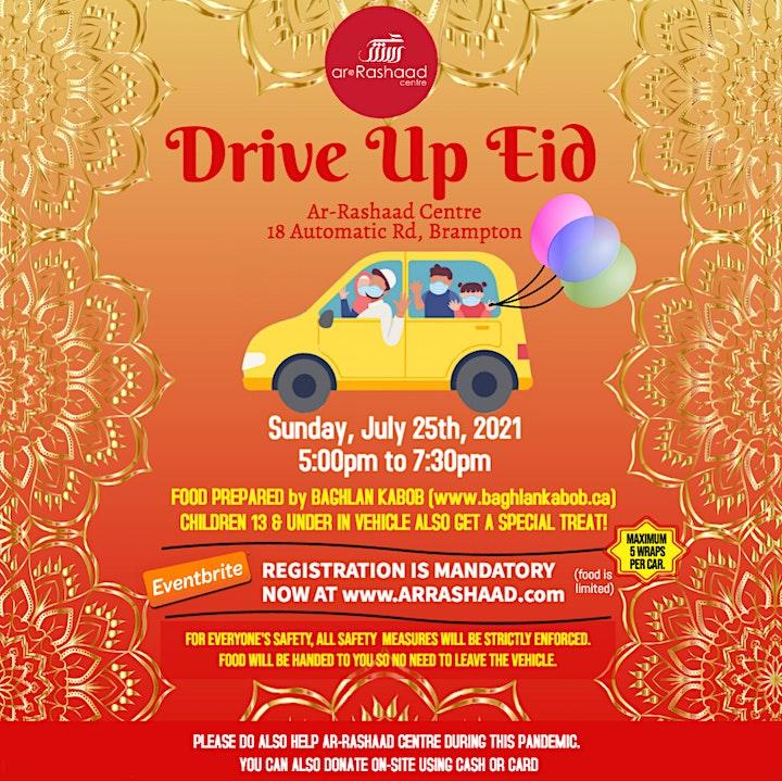 DRIVE-UP EID DINNER image