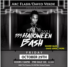 559 Halloween bash tickets