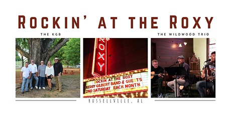 Rockin' At The Roxy with The KGB and special guest, The Wildwood Trio tickets