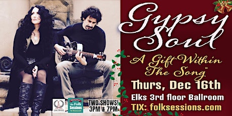 Gypsy Soul - A Gift Within the Song tickets