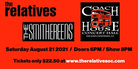 The Relatives / The Smithereens @ Coach House Concert Hall tickets