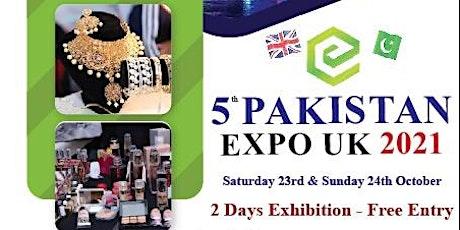 Pakistan Expo UK 2021 tickets