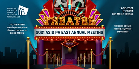 ASID PA EAST 2021 Annual Meeting tickets