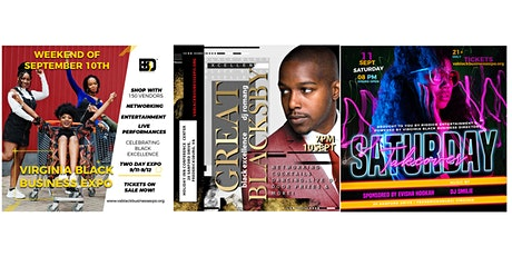 Weekend Pass - Virginia Black Business Expo tickets