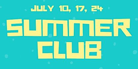 Children's Church Summer Club tickets