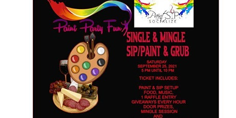 SINGLE N MINGLE/SIP AND PAINT tickets