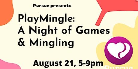 PlayMingle: Black Christian Singles Game Night tickets