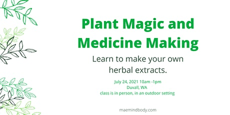 Plant Magic and Medicine Making tickets