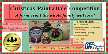 Christmas 'Paint a Bale'  Competition tickets