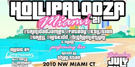 DJ Holiday Presents Hollipalooza Miami 2021 w/ Celebrity Friends tickets