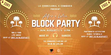 Afro x Latin Block Party (Edmonton) tickets