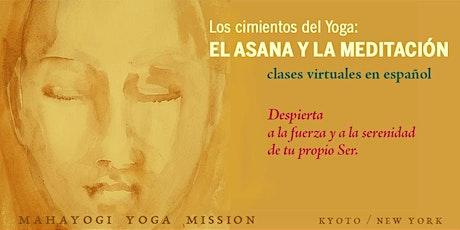 Los cimientos del Yoga: EL ASANA Y LA MEDITACIÓN entradas
