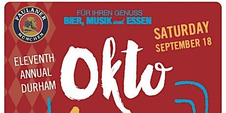 THE 11TH ANNUAL DURHAM OKTOBERFEST tickets
