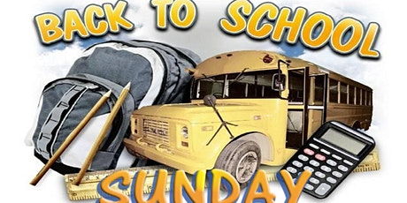 Back To School Sunday tickets