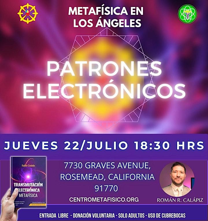 Imagen de PATRONES ELECTRÓNICOS- Metafísica en Los Ángeles