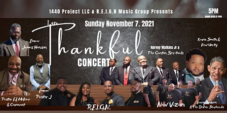 I Am Thankful Concert: Featuring The Canton Spirituals tickets
