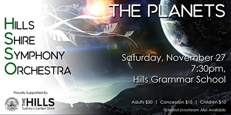 HSSO 3: The Planets tickets