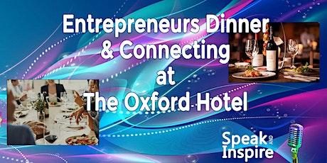 Entrepreneurs Dinner & Connecting tickets