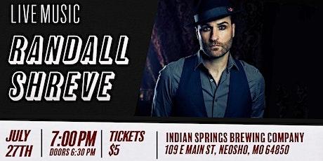 Randall Shreve live in Neosho tickets