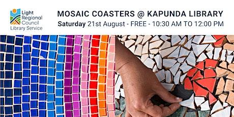 Mosaic Coasters @ Kapunda Library tickets